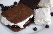 Homemade Vegetarian Marshmallows Recipe (no gelatin!) with sugar, water, agar flakes, egg whites, cream of tartar, and egg replacer - #marshmallow