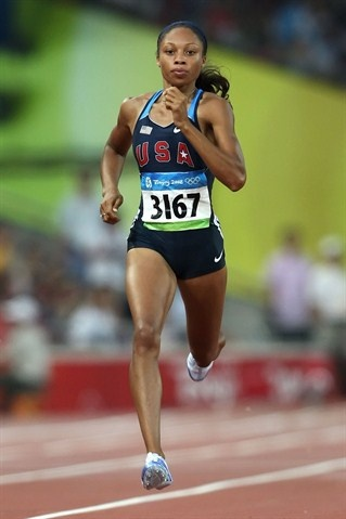 Allyson Felix: At the Olympics - Track & Field Slideshows | NBC Olympics