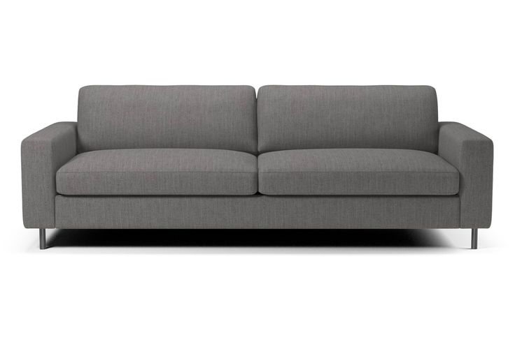 Scandinavia 3 Sitzer Sofa - Nantes - Stoff, Multi Grey ...