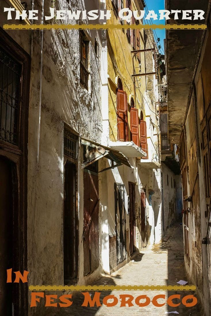A labyrinth of narrow streets leads to the old Jewish Quarter in Fes Morocco. Read the article for a photo tour. via @Rhondaalbom