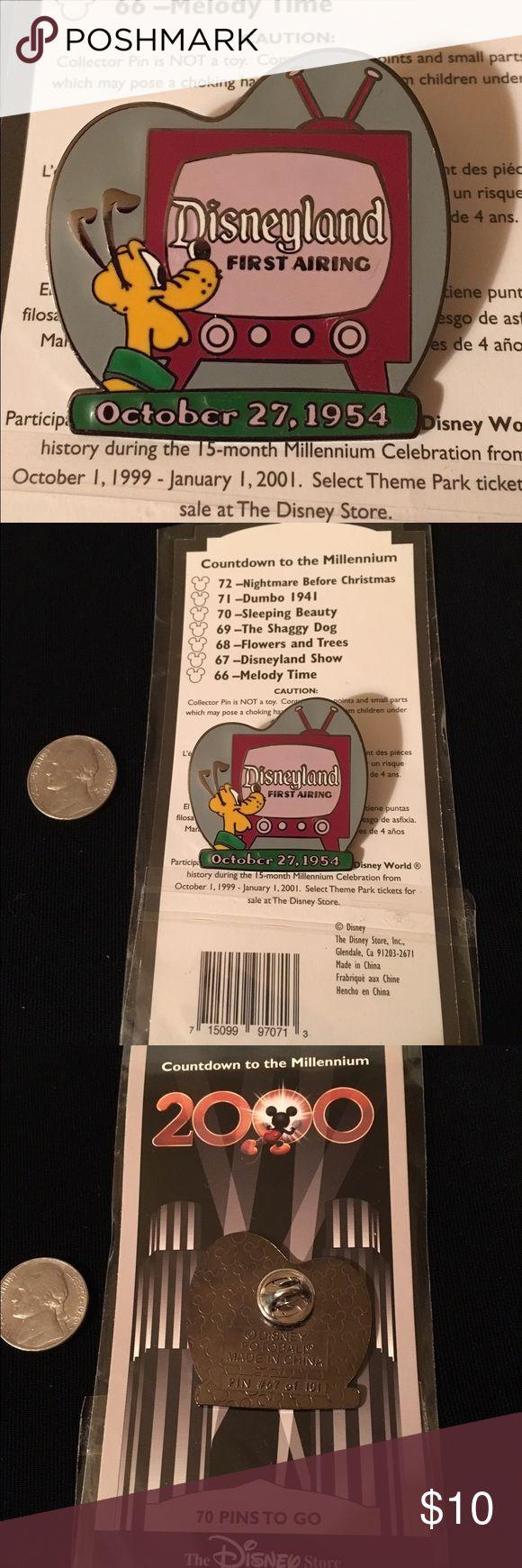 Disney Store Countdown to the Millennium Pin NEW in Original Packaging. Disneyland Show 1954 #67 Disney Jewelry