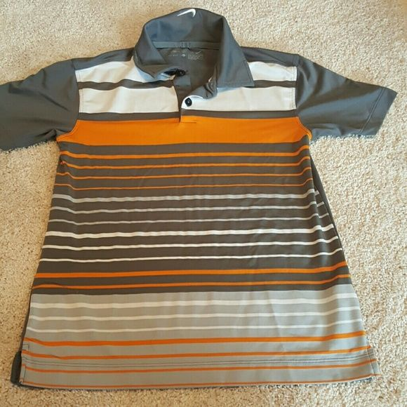 I just added this to my closet on Poshmark: Nike Golf Dri-fit boys shirt. Price: $9 Size: SB