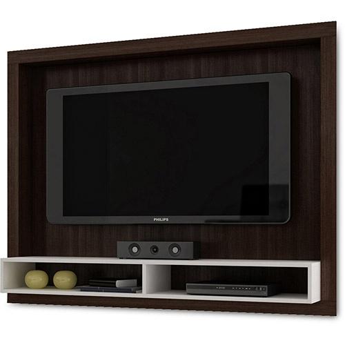 """Home para TV LED/LCD 42"""" - Tabaco/Branco - BRV"""