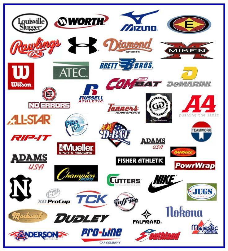 logos.jpg (1243×1373) Sports brand logos, Logo branding