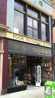 Frankfort, KY - Poor Richard's Bookstore.  Home of thousands of books selected under the watchful eyes of Richard & Lizz Taylor and a proud independent bookseller. Richard is a former Poet Laureate of Kentucky and professor of English & Humanities at Kentucky State University. Poor Richard's specializes in Kentucky titles, and also has an attic full of bibliophilic treasures awaiting their rightful home.