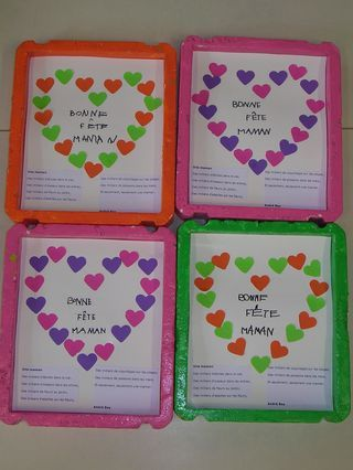 139 best images about f tes des parents on pinterest invisible ink crayons and fimo - Fete des meres petite section ...
