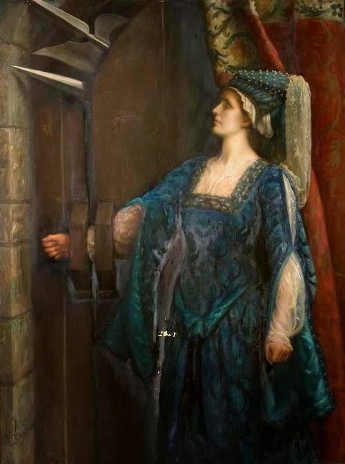 The Barred Door by Emma Irlam Briggs