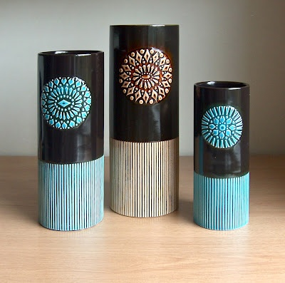 Hornsea Impact vases 1964 1965