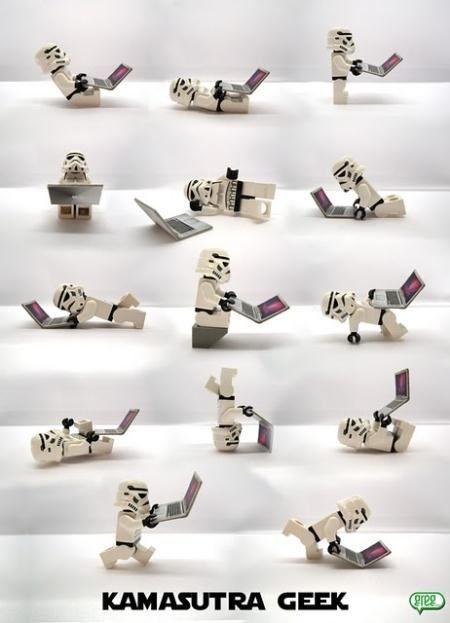 Kamasutra geek | Lego au bureau et ailleurs... | ReBrick | From LEGO Fan To LEGO Fan