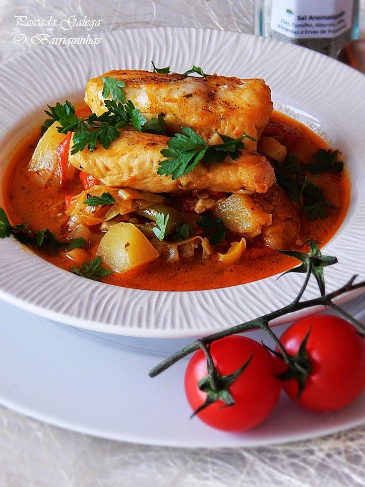 Pescada Galega - Dia Um na Cozinha
