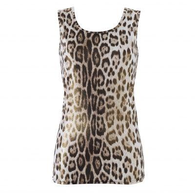 3 SUISSES - Topje met luipaardprint UW MODE