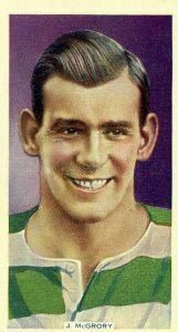 Jimmy McGrory of Celtic in 1928.