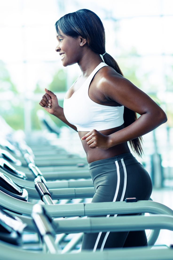 Quick 20-minute interval treadmill workout to blast belly fat + a bonus arm workout.