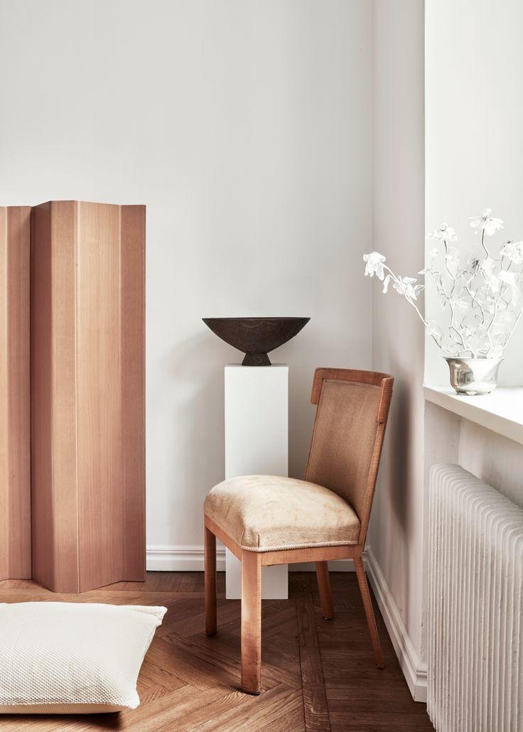 Titta in i vackra lägenheten stylad med Magnibergs sängkläder   Residence