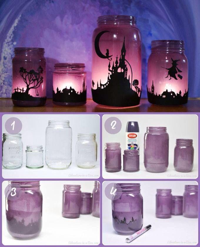 Porta candele fai da te tutorial- DIY candles