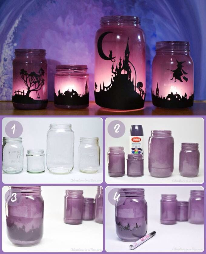 Porta candele fai da te tutorial- DIY candles