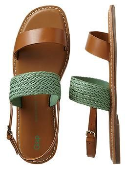 Two-band woven sandals | Gap