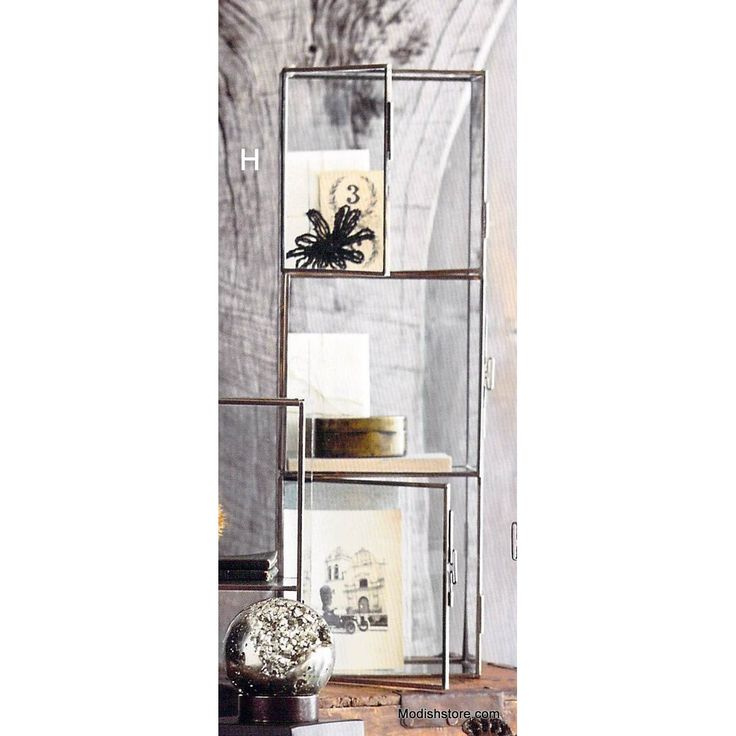 roost glass display cabinets