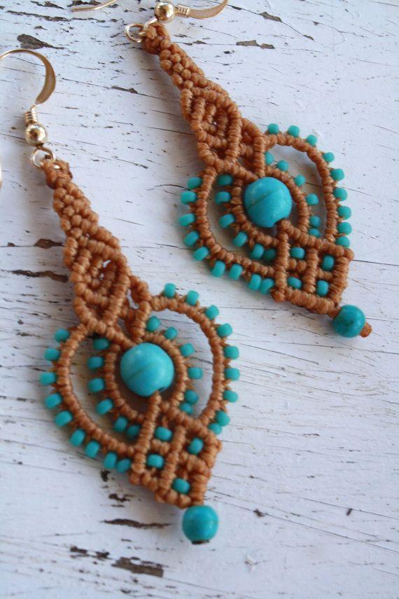 native american earrings long dangle earrings by yasminsjewelry