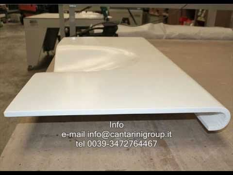 Thermoforming Solid Surface   YouTube