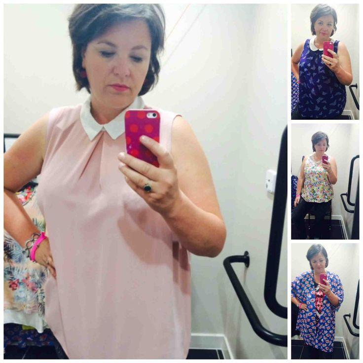 NewLook, Inspire, plus size, shoppen Londen, grote maten mode, paskamer selfie