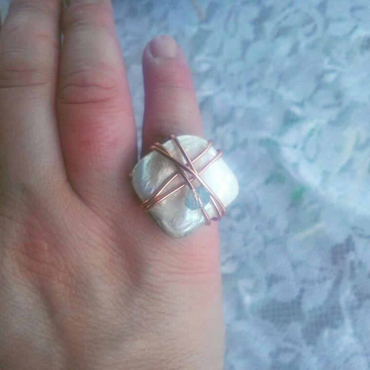 Handmade fildici ring
