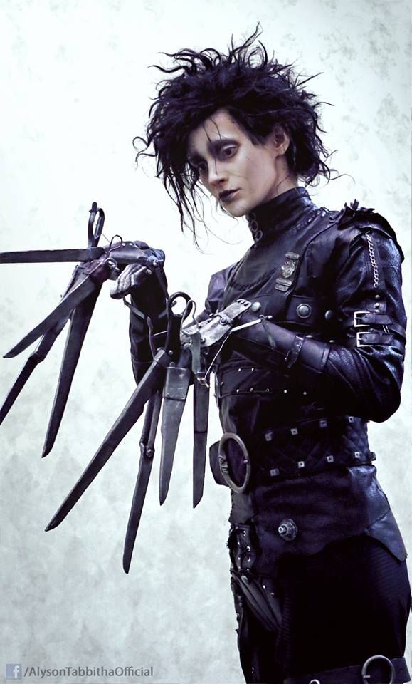 Cool Cosplay: Edwards Scissorhands - COSPLAY IS BAEEE!!! Tap the pin now to grab yourself some BAE Cosplay leggings and shirts! From super hero fitness leggings, super hero fitness shirts, and so much more that wil make you say YASSS!!!
