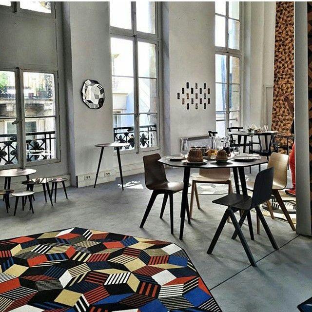 @ichetkar: The Penrose Project prend la pose pendant #Parisdesignweek Do you #Penrose ?  @bazartherapy #PDW15 #TEAM14SPIN #TEAM14SINS #team14stw