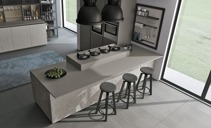Oltre 25 fantastiche idee su bancone da cucina su for Piani di casa di concetto aperto stile ranch