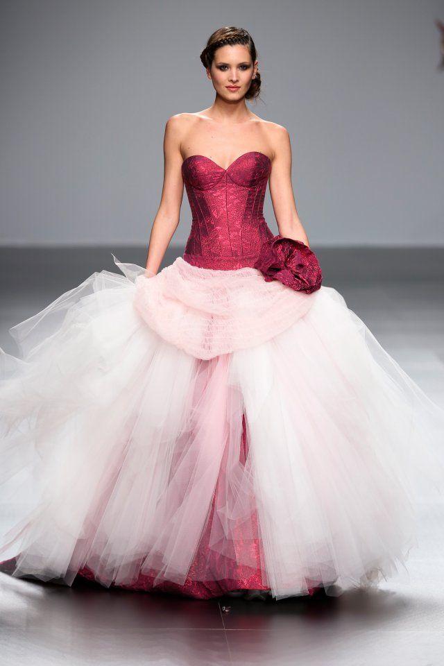 Robe de mariée originale Jordi Dalmau - Marie Claire