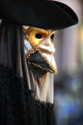 Masque venitien homme