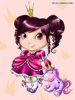 Коллекция картинок: Чудесные феечки и принцесски от Lia