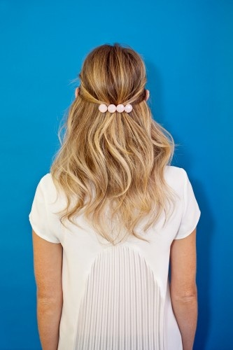 DIY these 7 party-ready hairstyles! Photos by Mindy Best & Winnie Au.
