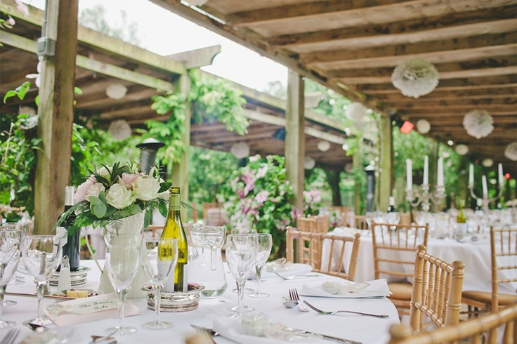 Maunsel House - Hold receptions outdoors in the Pergola - 13th-century manor house - Wedding venue in Somerset