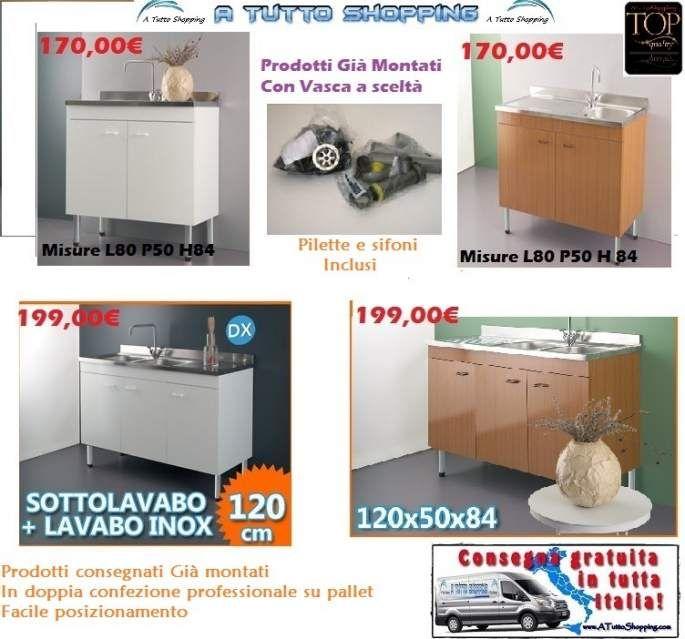 Lavelli completi per cucina mobili cucina in offerta e for Arredamenti completi in offerta
