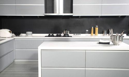 Keukeneiland Wand : Moderne keukens Grijs en wit Keukens Pinterest