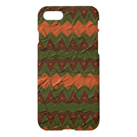 Colorful pattern with arrow shapes iPhone 7 case - click to get yours right now!