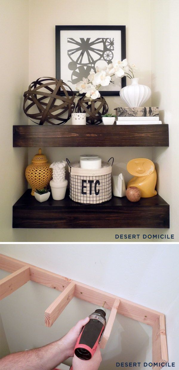 Best Shelves Above Toilet Ideas On Pinterest Half Bathroom