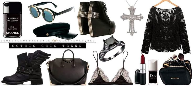 Looking for the style: El nuevo dress code: Gothic Chic. C.o.c.o.