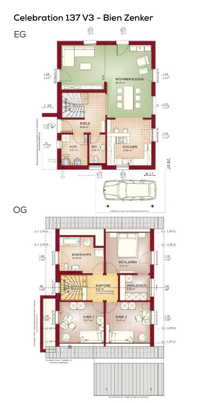 207 besten grundriss einfamilienhaus bilder auf pinterest for Beste grundrisse einfamilienhaus