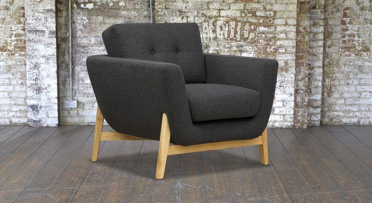 Bermondsey Chair In Knebworth Anthracite #sofasandstuff #interiordesign  #armchair · Sofa And StuffGrey ...
