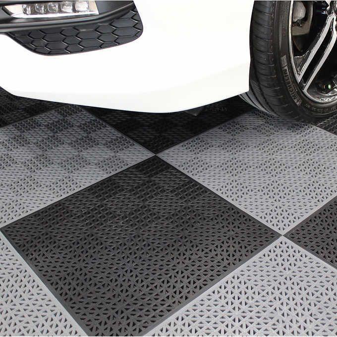 Plastipro Loc Heavy Duty Garage Floor Tiles Garagefloormats