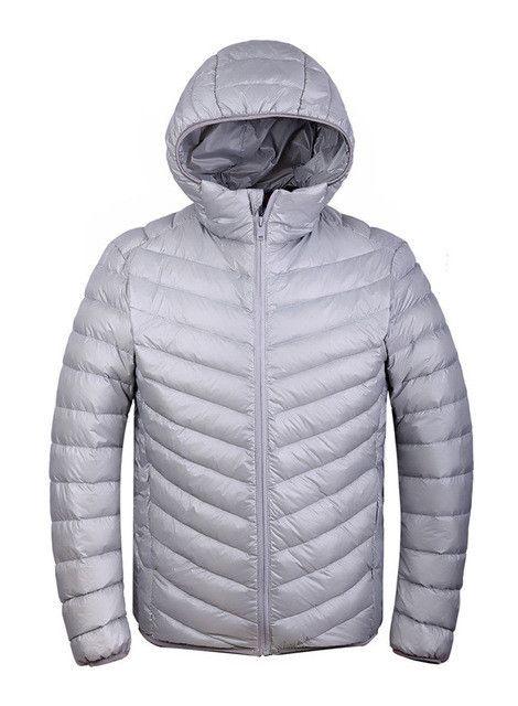 Winter men Ultralight Jacket 95% Duck Down Jacket Men Down Jacket Outdoors Collar Winter Parka Coat