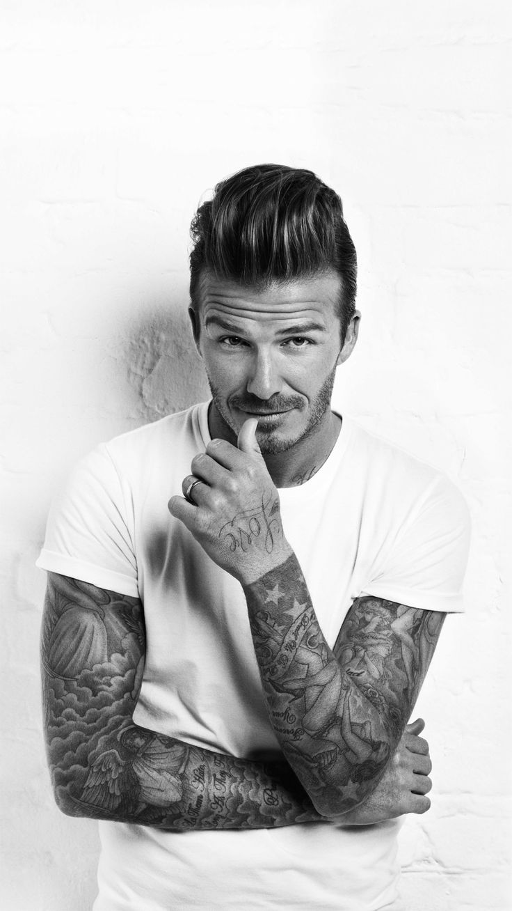 David Beckham - I hate that he is less attractive to me because he married Posh Spice . . .