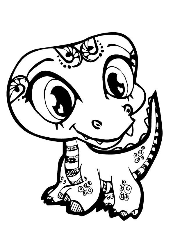 top 25 littlest pet shop coloring pages your toddler will love - Baby Arctic Animals Coloring Pages