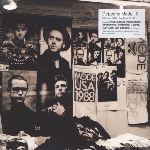 Depeche Mode 101 Vinyl Lp Album Reissue Discogs Depeche Mode Depeche Mode Youtube Depeche Mode Albums