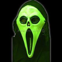 Masque screaming fantome phospho + cagoule