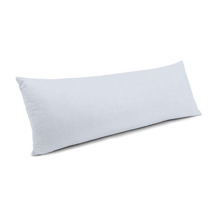 Large Lumbar Pillow Long Lumbar Pillow Rectangular Pillow Cover Light Blue Pillows