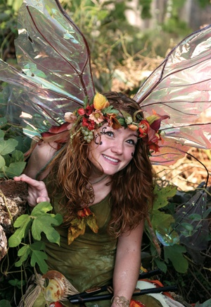 Twig, the fairy! It makes me laugh to see Twig on here! She's so awesome! Miss seeing her at Scarborough Faire.: