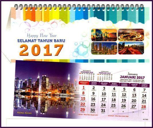 Jasa Percetakan Kalender